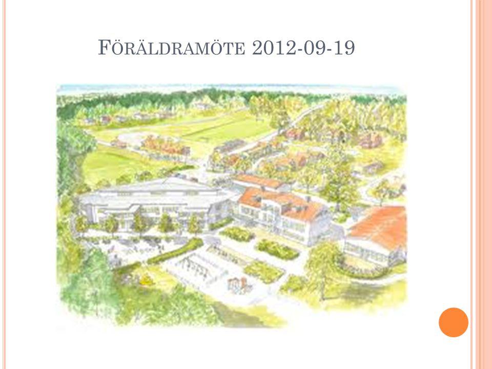 Föräldramöte 2012-09-19