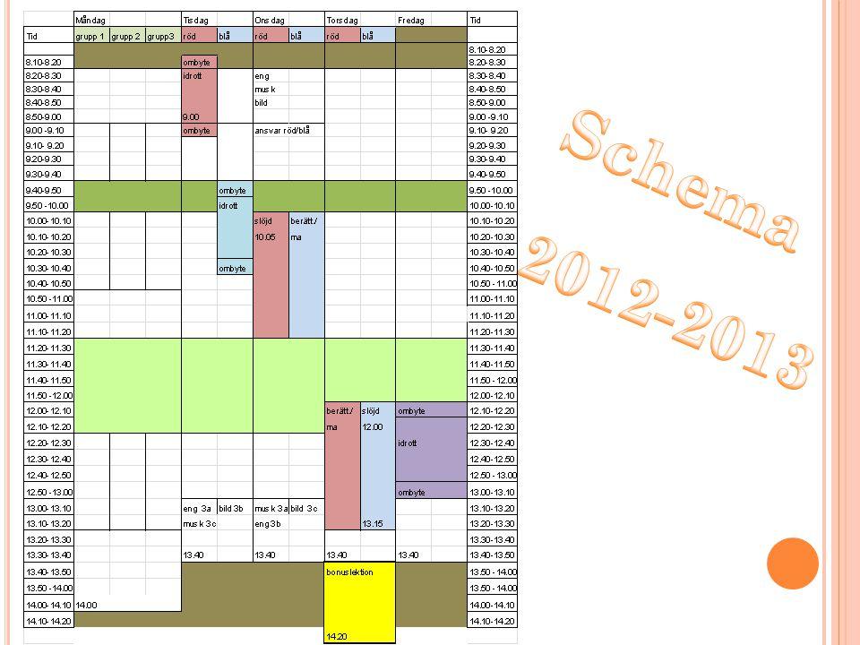 Schema 2012-2013