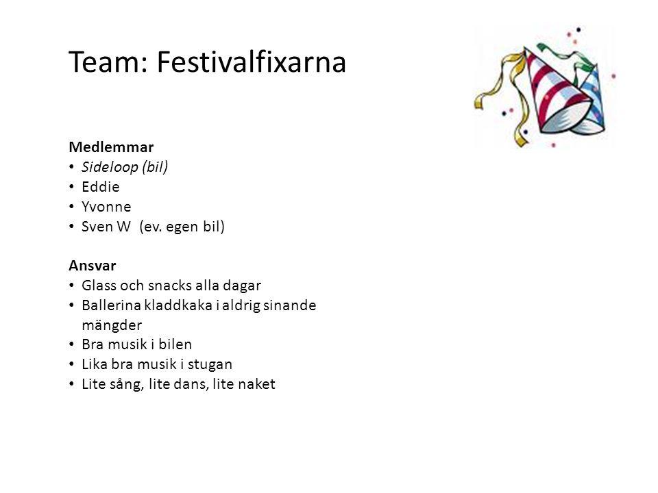 Team: Festivalfixarna