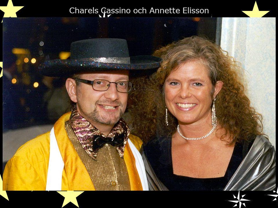Charels Cassino och Annette Elisson