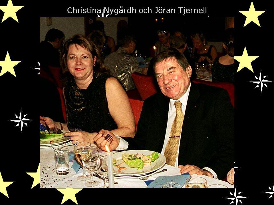 Christina Nygårdh och Jöran Tjernell