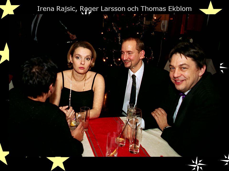 Irena Rajsic, Roger Larsson och Thomas Ekblom