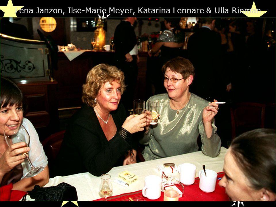 Lena Janzon, Ilse-Marie Meyer, Katarina Lennare & Ulla Rinman