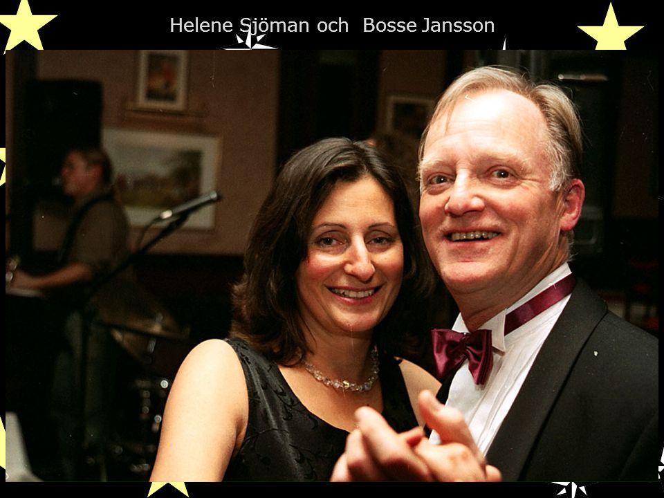Helene Sjöman och Bosse Jansson