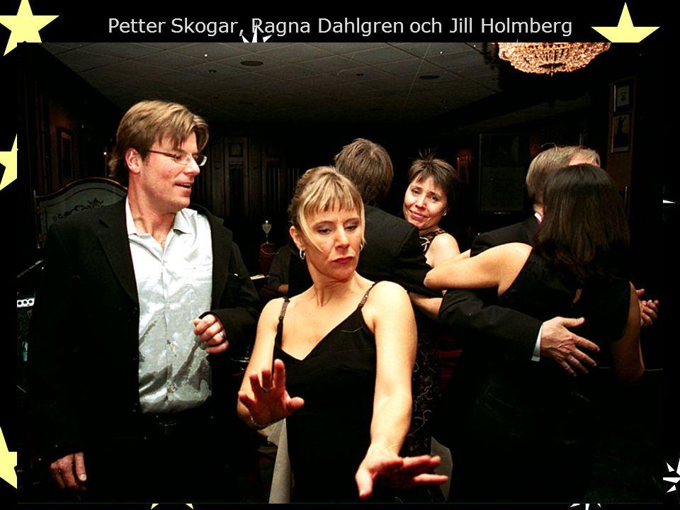 Petter Skogar, Ragna Dahlgren och Jill Holmberg