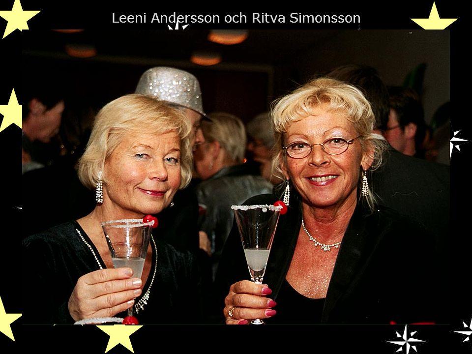 Leeni Andersson och Ritva Simonsson