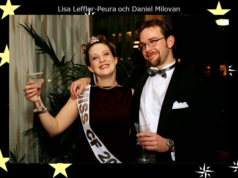 Lisa Leffler-Peura och Daniel Milovan