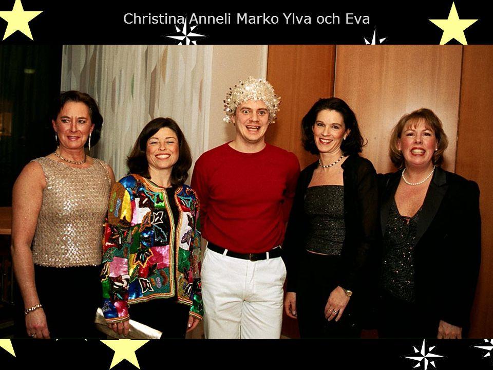 Christina Anneli Marko Ylva och Eva