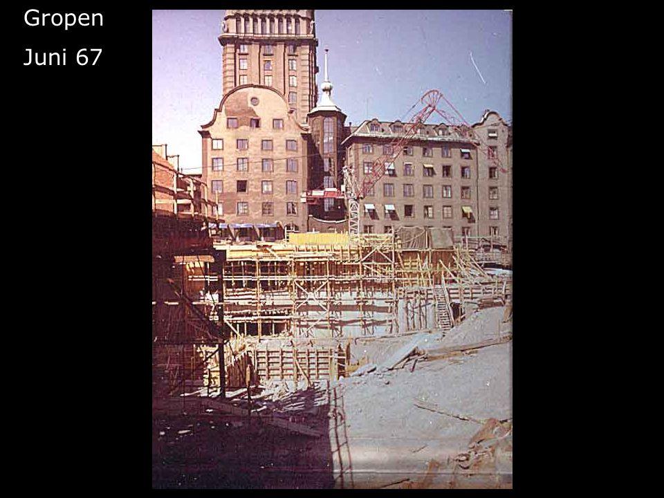 Gropen Juni 67 Femte höghuset blir till