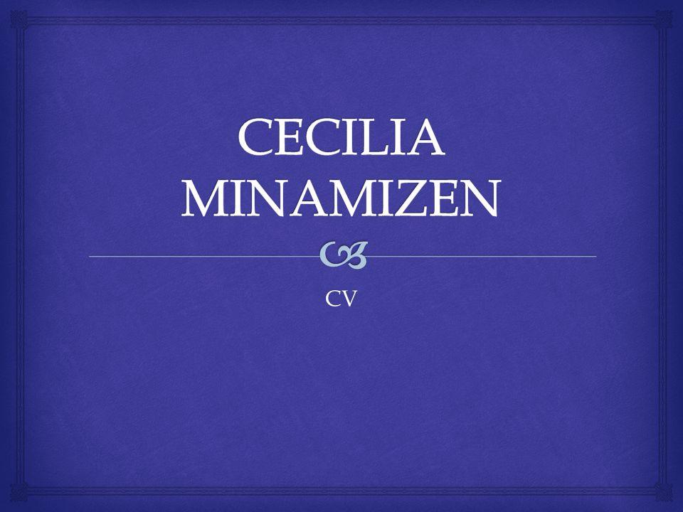 CECILIA MINAMIZEN CV