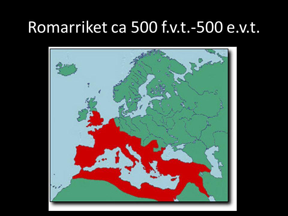 Romarriket ca 500 f.v.t.-500 e.v.t.
