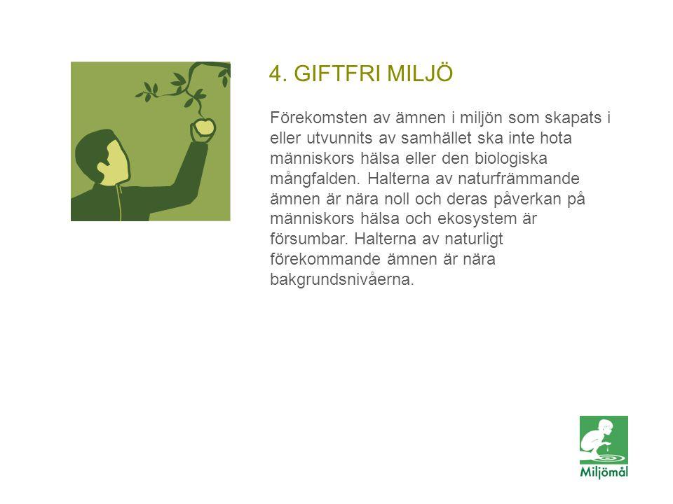 4. GIFTFRI MILJÖ