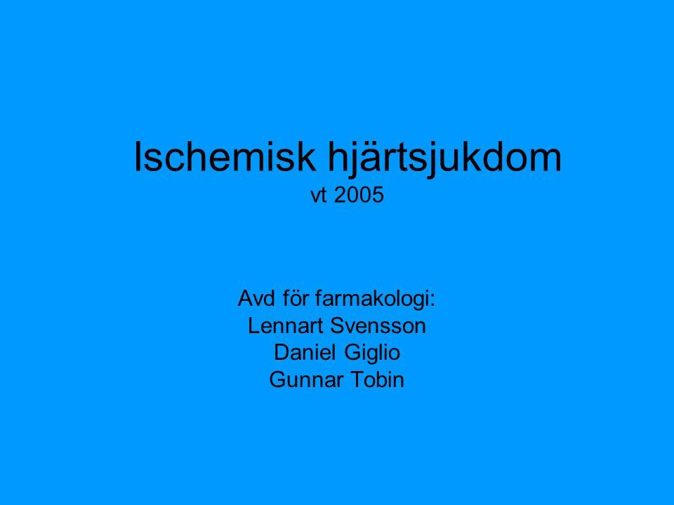 Ischemisk hjärtsjukdom vt 2005