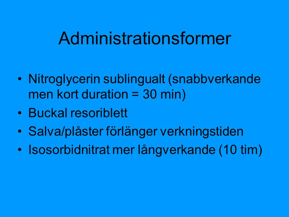 Administrationsformer