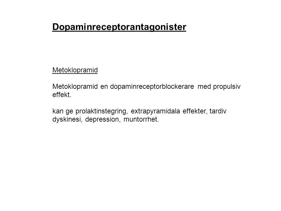 Dopaminreceptorantagonister