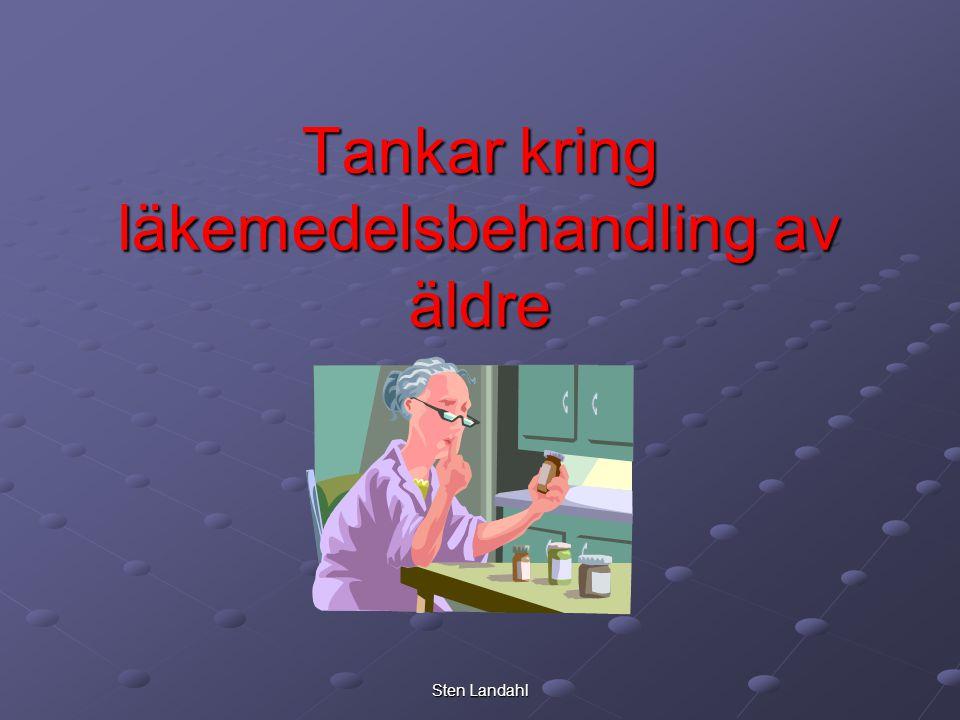 Tankar kring läkemedelsbehandling av äldre