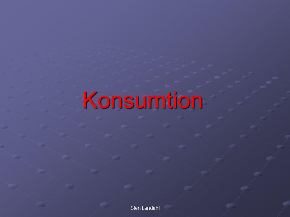 Konsumtion Sten Landahl