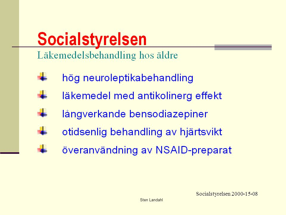 Socialstyrelsen 2000-15-08 Sten Landahl