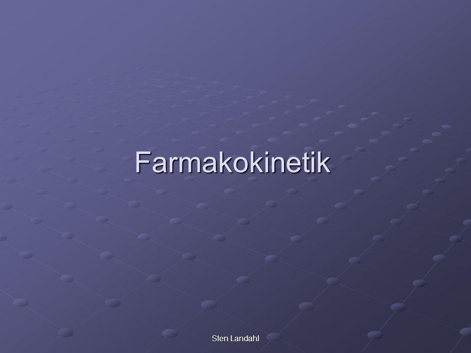 Farmakokinetik Sten Landahl