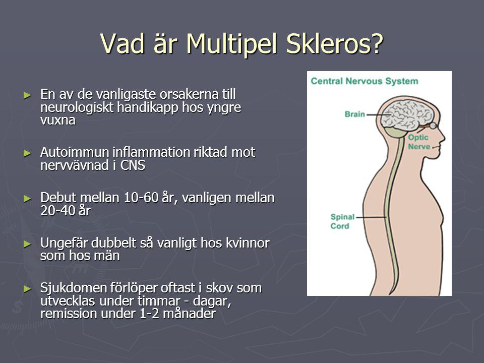 Vad är Multipel Skleros