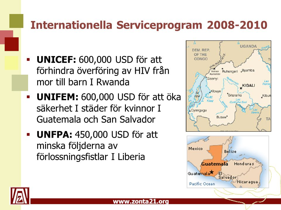 Internationella Serviceprogram 2008-2010