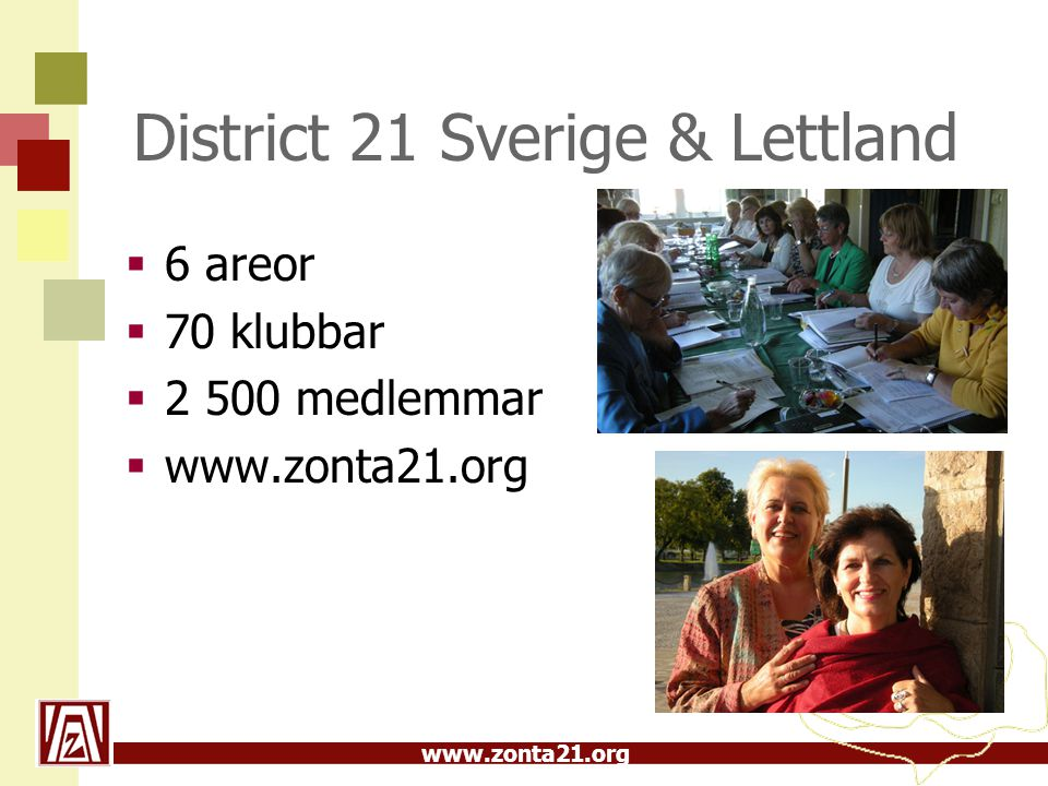 District 21 Sverige & Lettland