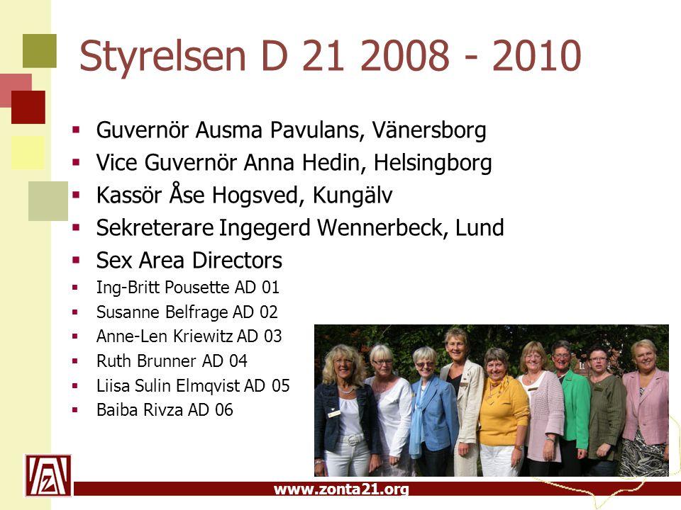 Styrelsen D 21 2008 - 2010 Guvernör Ausma Pavulans, Vänersborg