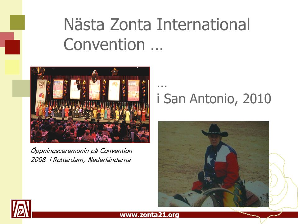 Nästa Zonta International Convention …