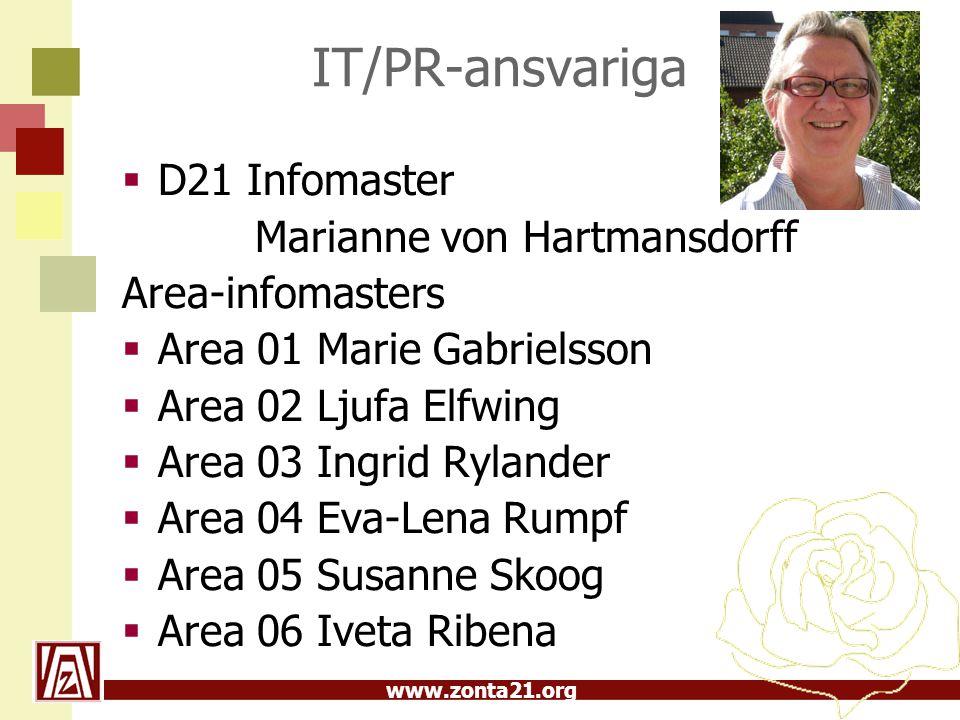 IT/PR-ansvariga D21 Infomaster Marianne von Hartmansdorff