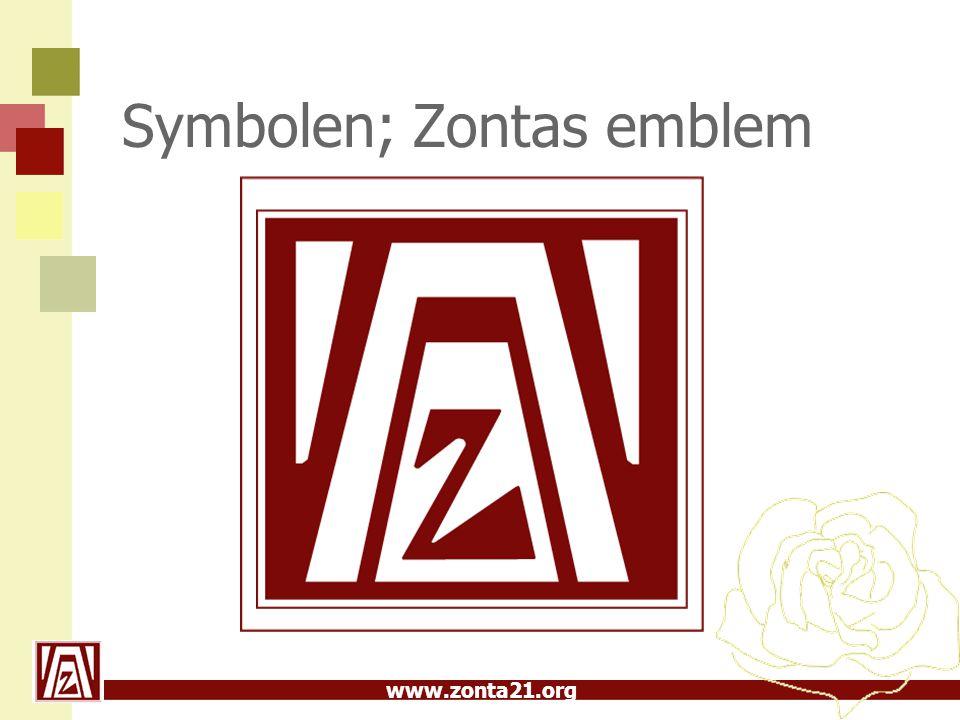 Symbolen; Zontas emblem