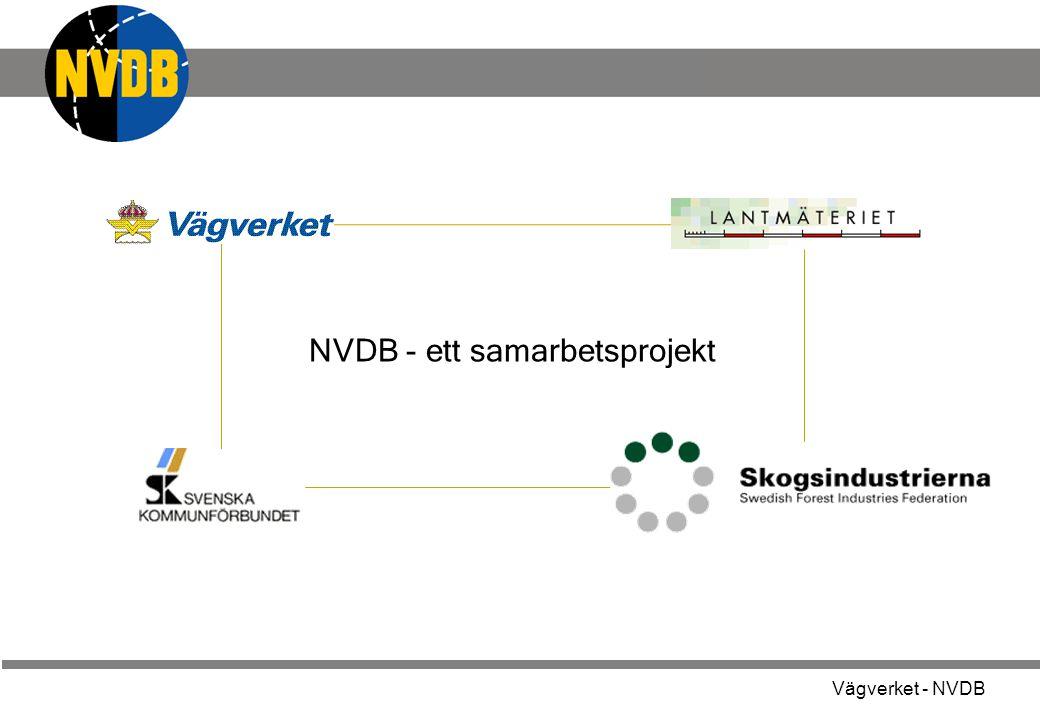NVDB - ett samarbetsprojekt
