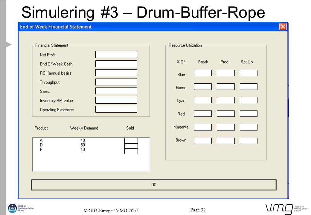 Simulering #3 – Drum-Buffer-Rope