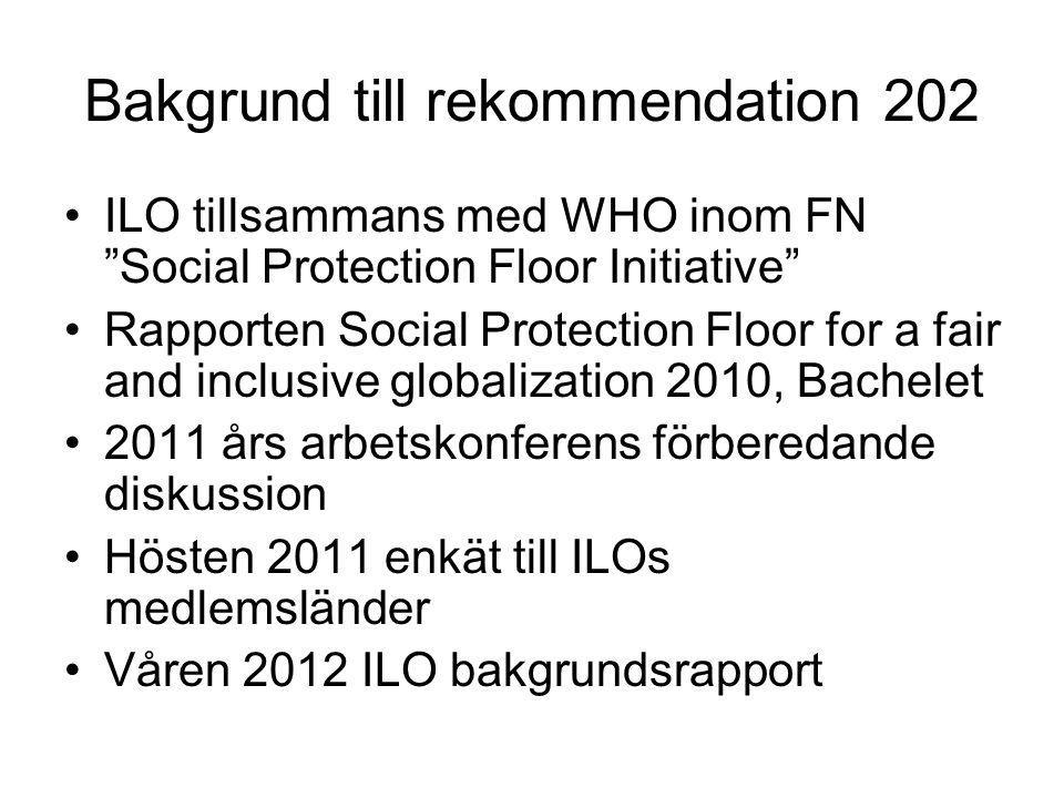 Bakgrund till rekommendation 202