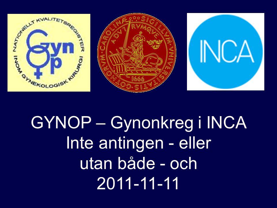 GYNOP – Gynonkreg i INCA
