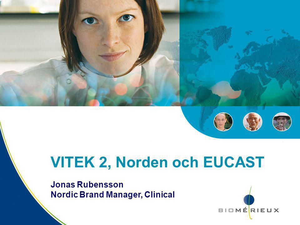 VITEK 2, Norden och EUCAST