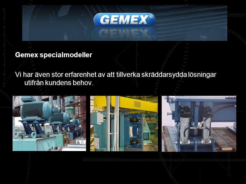 Gemex specialmodeller