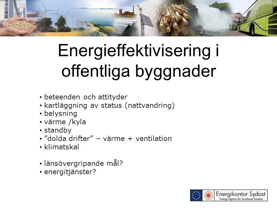 Energieffektivisering i offentliga byggnader