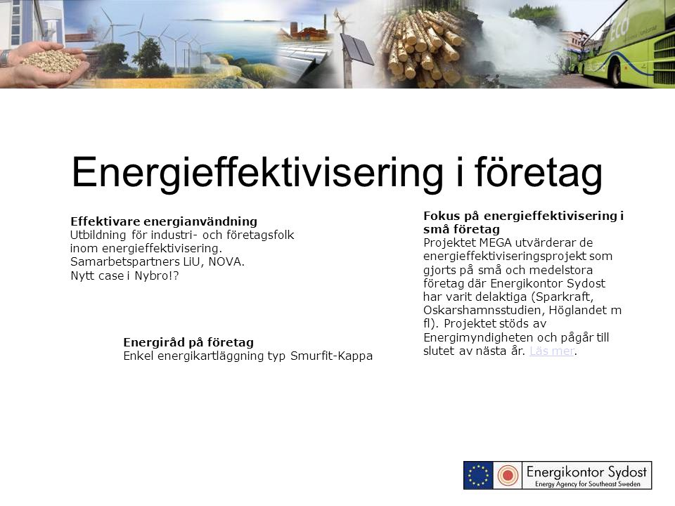 Energieffektivisering i företag