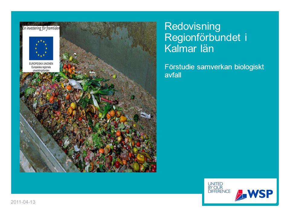 Redovisning Regionförbundet i Kalmar län