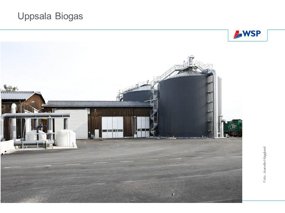 Uppsala Biogas Foto: Jeanette Hägglund