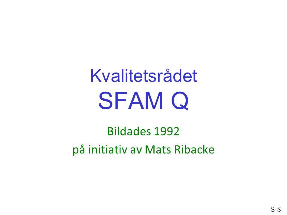 Bildades 1992 på initiativ av Mats Ribacke