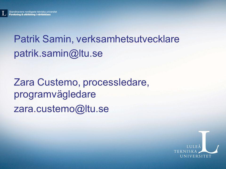 Patrik Samin, verksamhetsutvecklare