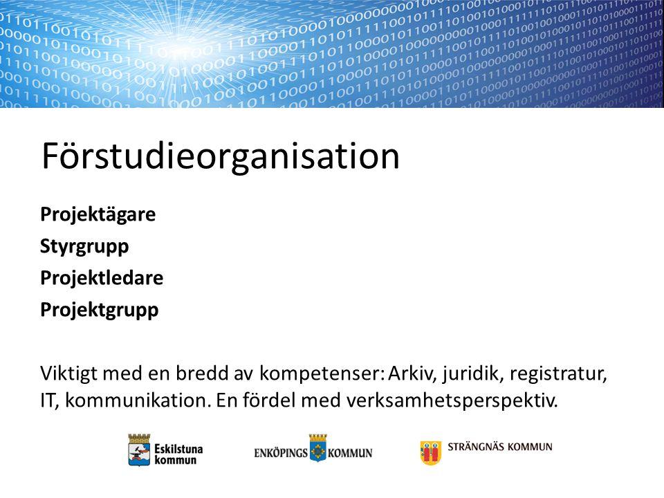 Förstudieorganisation
