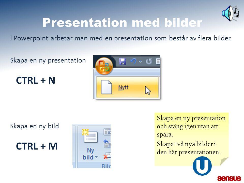 Presentation med bilder