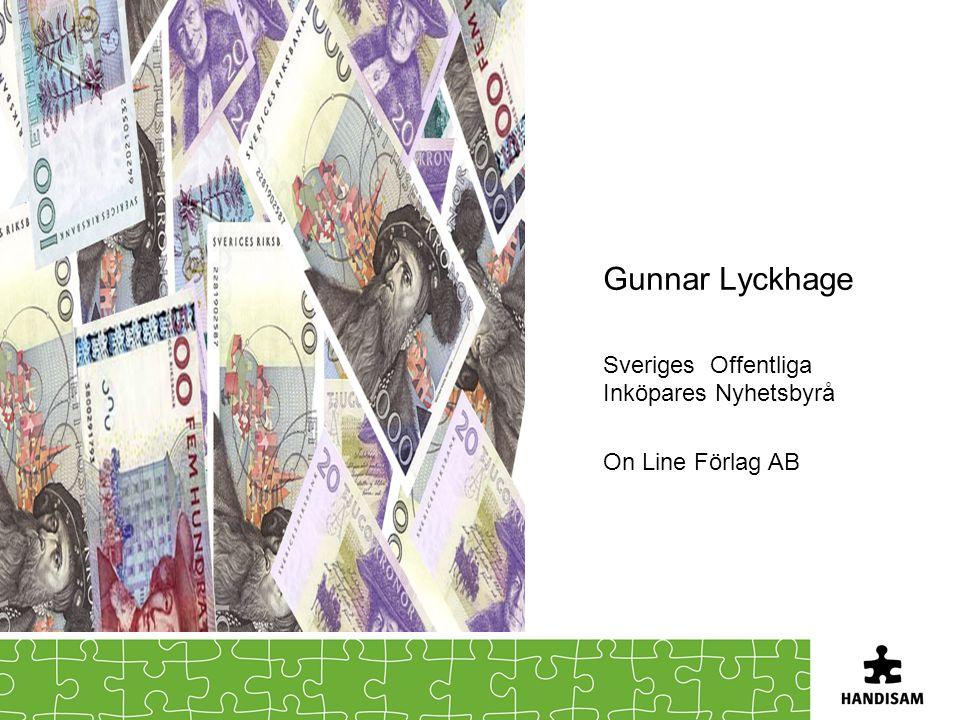 Gunnar Lyckhage Sveriges Offentliga Inköpares Nyhetsbyrå
