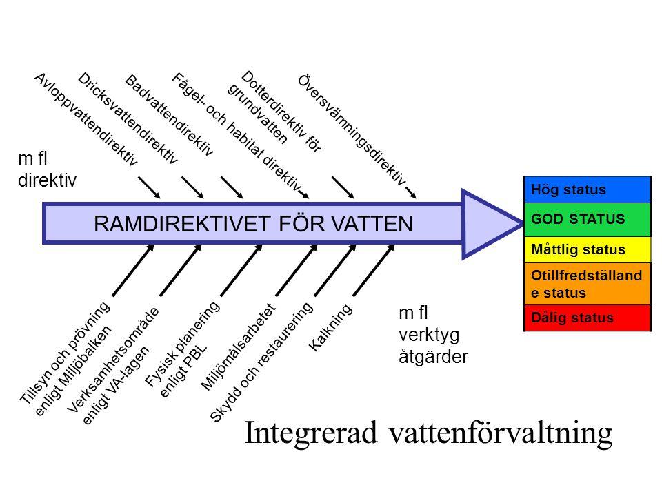 RAMDIREKTIVET FÖR VATTEN