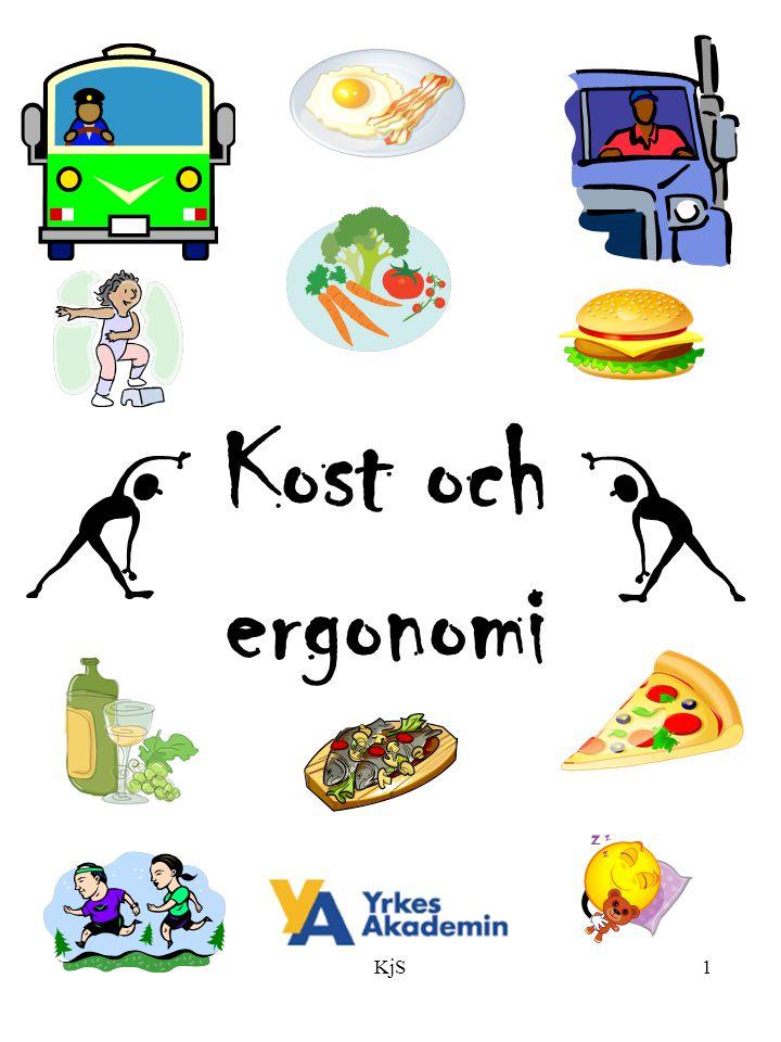 Kost och ergonomi KjS