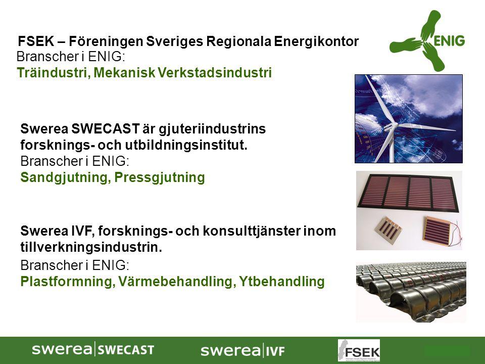 FSEK – Föreningen Sveriges Regionala Energikontor