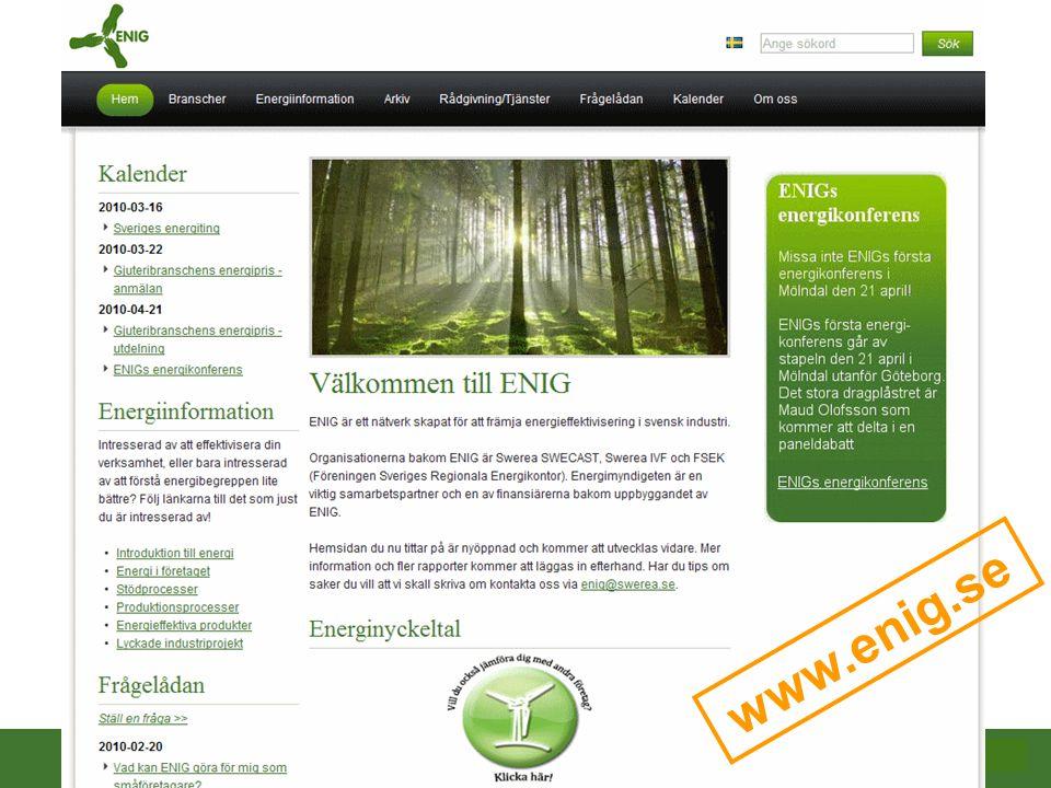 På projektets hemsida har vi vårt verktyg för att hjälpa företagen med nyckeltalen.
