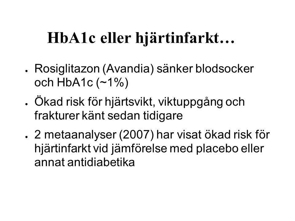 HbA1c eller hjärtinfarkt…